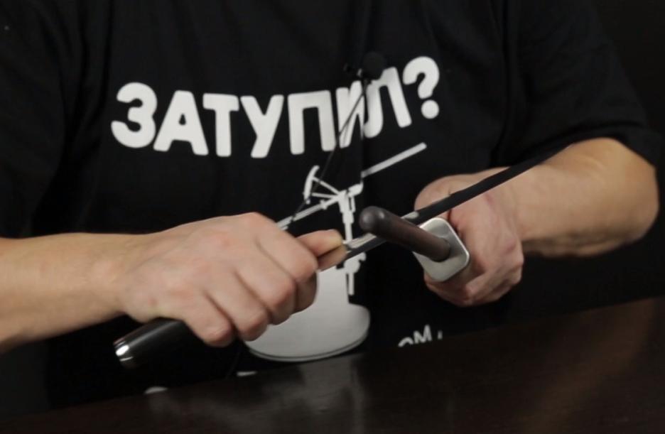 Курс по заточке. Как править нож?
